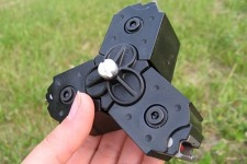 The AlanGater 3Mag Coupler makes it possible to clip together three of the factory 10-rnd magazines.