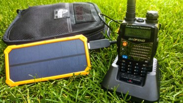 Baofeng and Solar charger