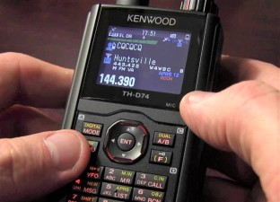Kenwood TH-D74A Handheld b