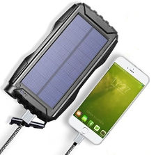 Kiizon 25000mAh Solar Power Bank 02