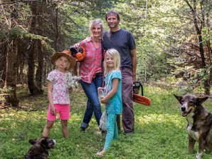 Family-in-wilderness-chainsaw-b